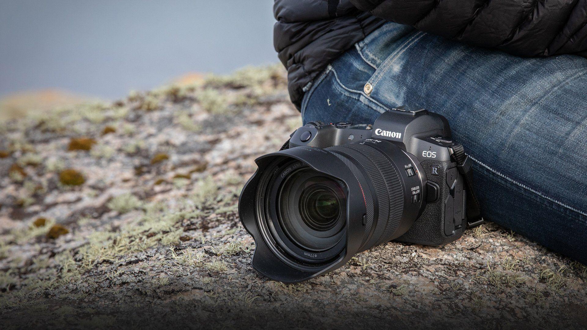 Wifi & Bluetooth Camera - EOS R - Canon UK